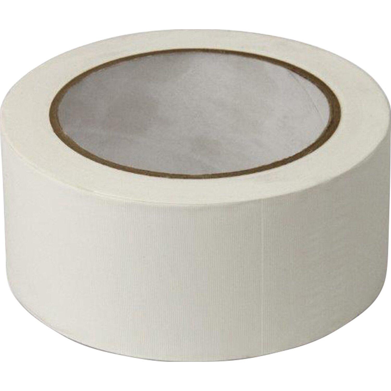 Sonstige PVC-Klebeband gerillt Weiß 50 mm