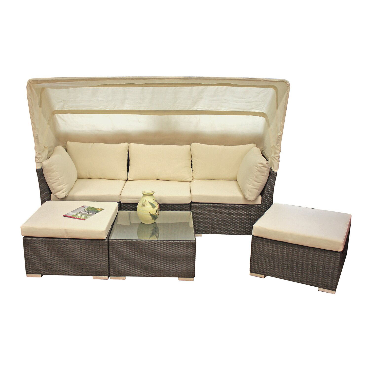 garden pleasure lounge sofa santiago kaufen bei obi. Black Bedroom Furniture Sets. Home Design Ideas