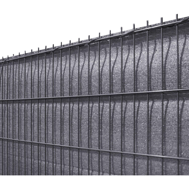 solid sichtschutzblende anthrazit grobe struktur aus hdpe 140 cm x 500 cm kaufen bei obi. Black Bedroom Furniture Sets. Home Design Ideas