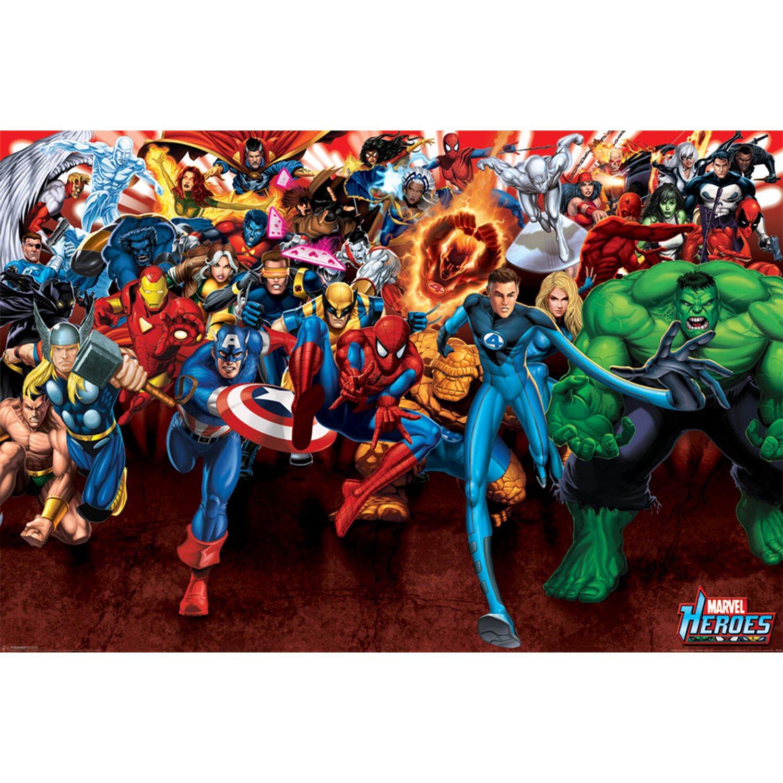 Wandbild Marvel 90 Cm X 60 Cm Kaufen Bei Obi