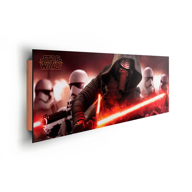 wandbild star wars the force awakens kylo ren 156 cm x 52 cm kaufen bei obi. Black Bedroom Furniture Sets. Home Design Ideas
