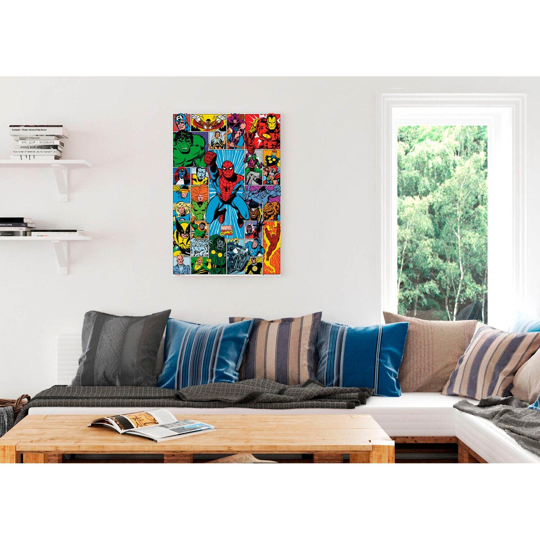 Wandbild Marvel Superhelden 60 cm x 90 cm kaufen bei OBI