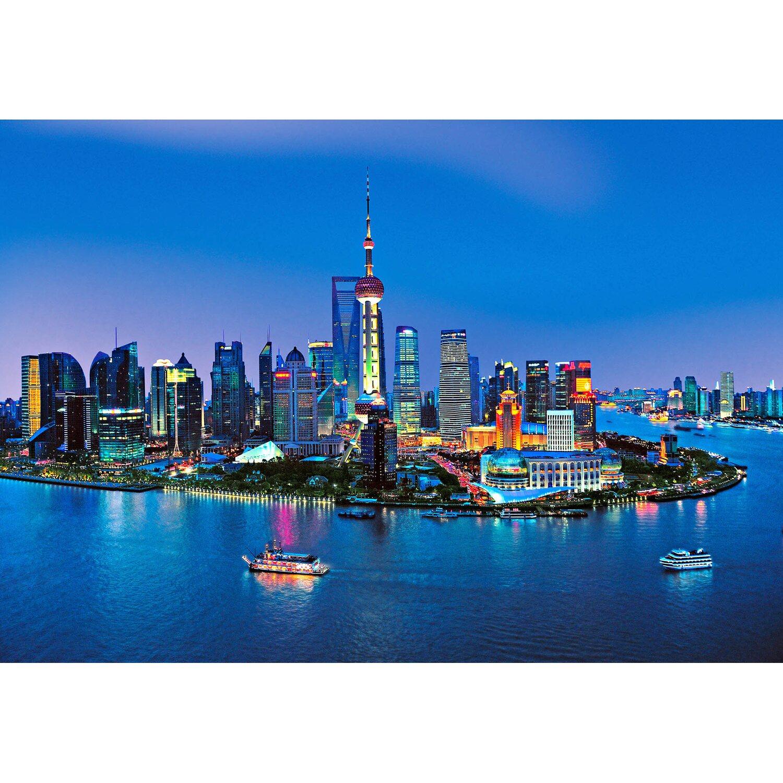 Fototapete Shanghai Horizont 366 cm x 254 cm