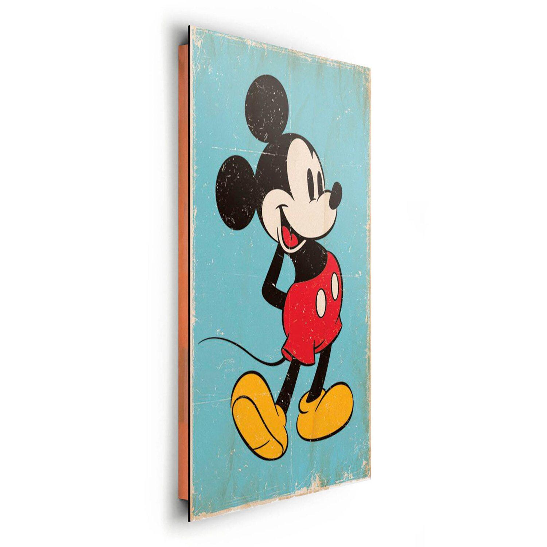 Wandbild Mickey Mouse 60 cm x 90 cm