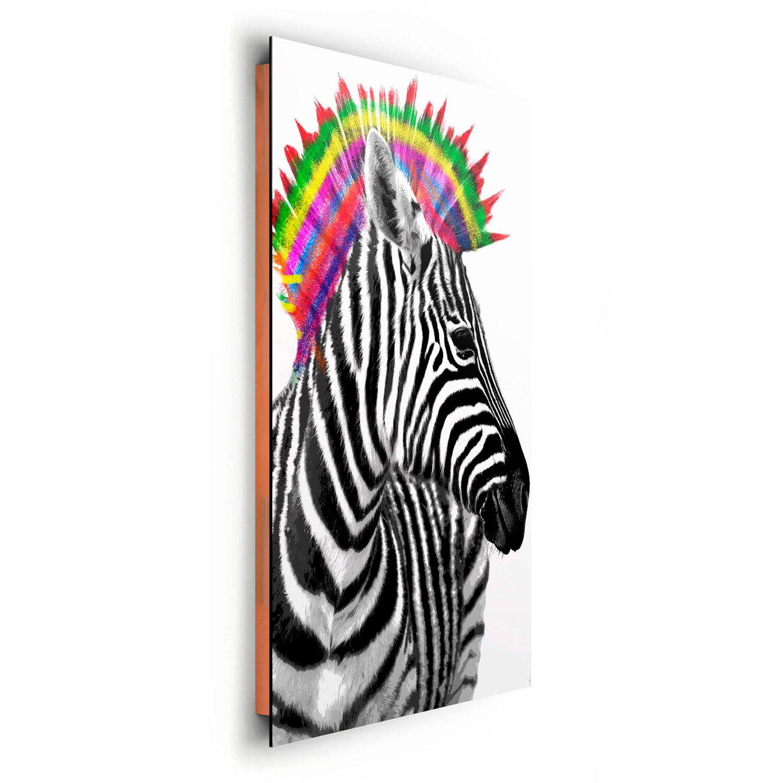 Wandbild Zebra Punk 60 cm x 90 cm kaufen bei OBI