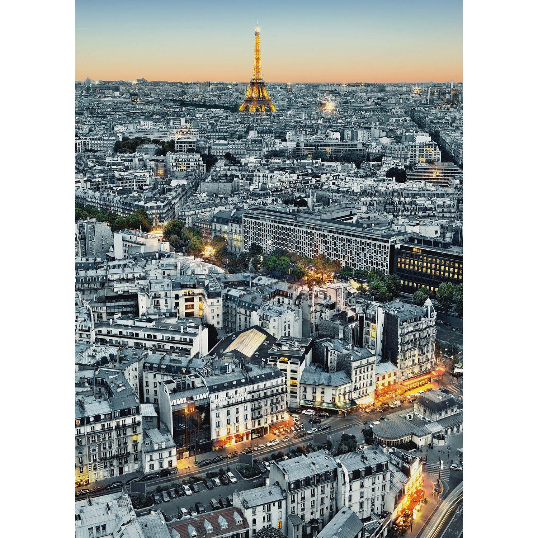 Fototapete Paris-Luftbild 183 cm x 254 cm