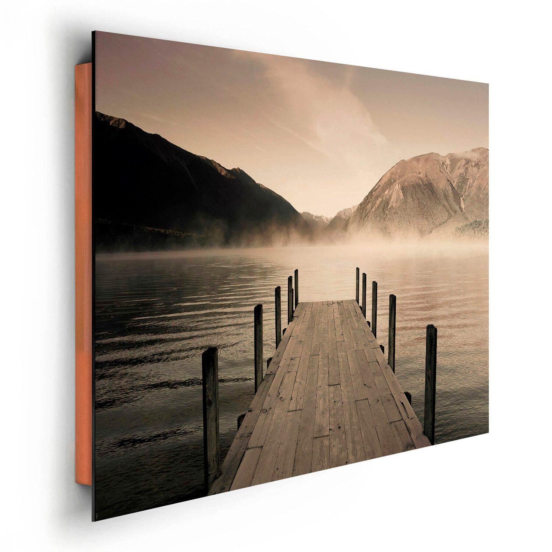 Wandbild steg see rotoiti 90 cm x 60 cm kaufen bei obi for Bilder poco