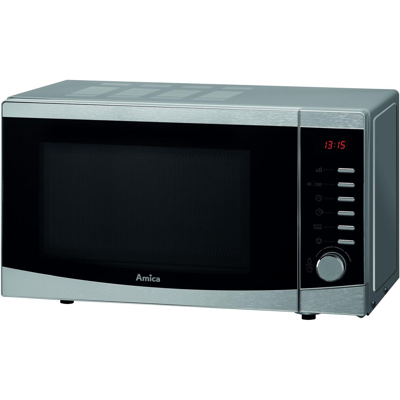 amica mikrowelle amg20e70 mit grillfunktion edelstahl 900 w 20 l kaufen bei obi. Black Bedroom Furniture Sets. Home Design Ideas