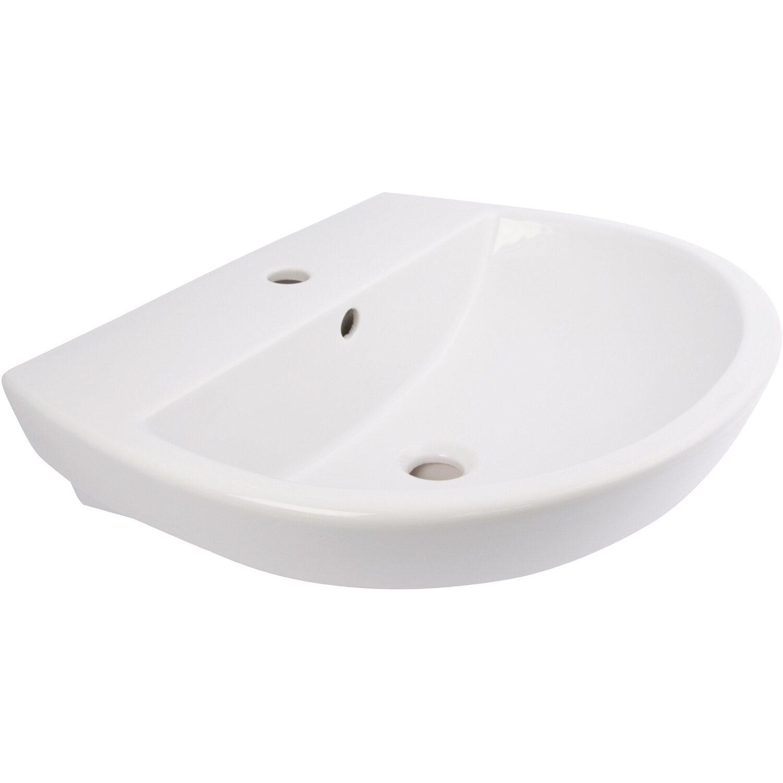 AquaSu  Barca 2.0 Waschbecken 55 cm Weiß