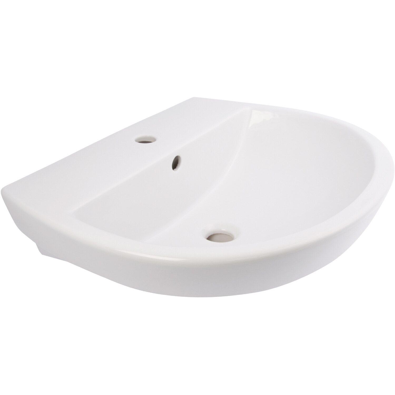 AquaSu  Barca 2.0 Handwaschbecken 45 cm Weiß