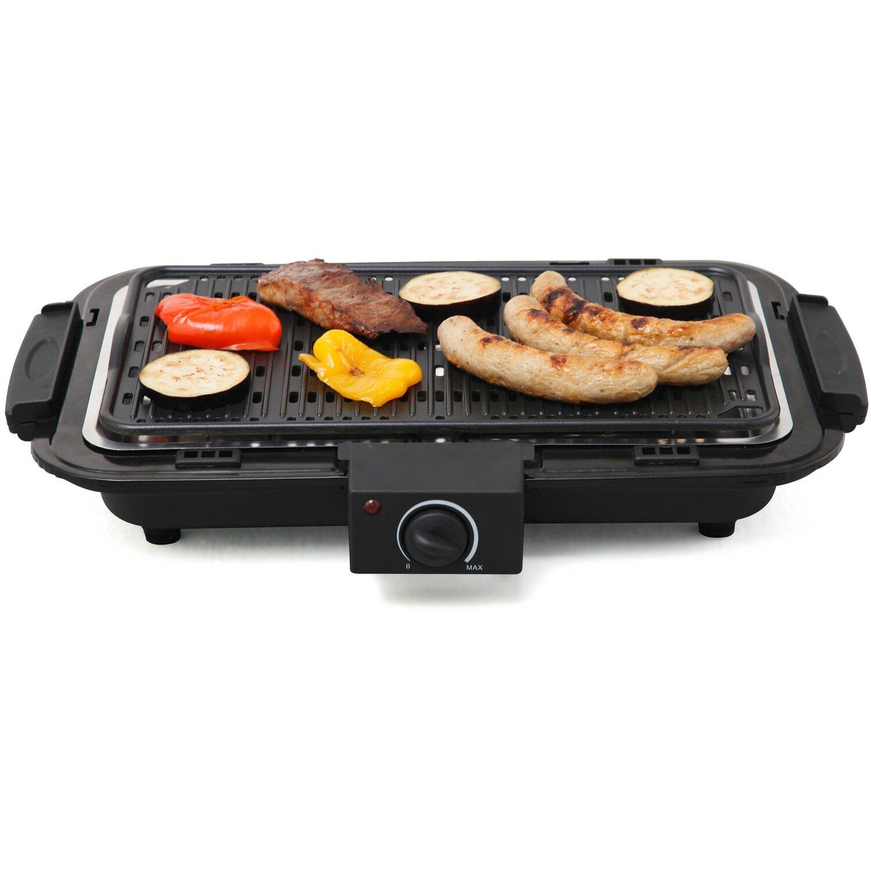 tepro tisch-elektrogrill victorville mit grillplatte schwarz kaufen