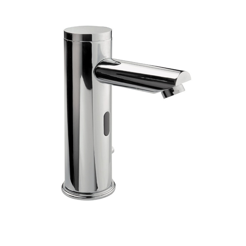 Sanitop-Wingenroth Sensor-Waschbeckenarmatur Flash Chrom | Bad > Armaturen > Waschtischarmaturen | Silberfarben | Sanitop-Wingenroth