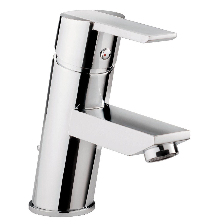 Sanitop-Wingenroth Einhebelmischer-Waschbeckenarmatur Casper Chrom | Bad > Armaturen > Waschtischarmaturen | Silberfarben | Sanitop-Wingenroth