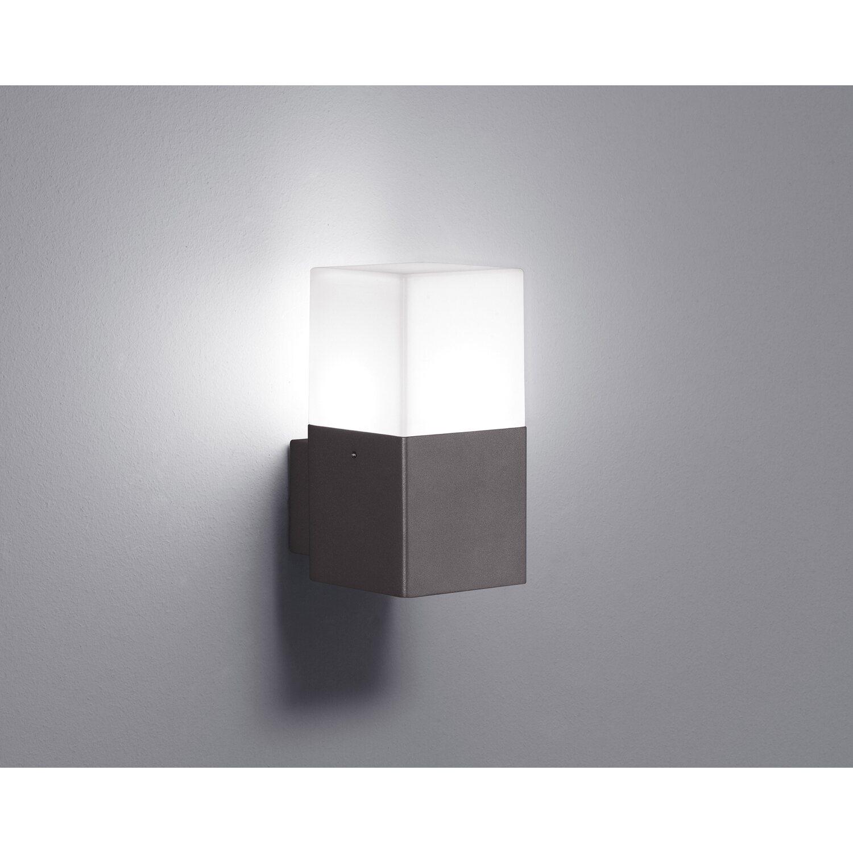 Trio LED-Außenwandleuchte Hudson 1-flammig Anthrazit EEK: A+   Lampen > Aussenlampen   Trio