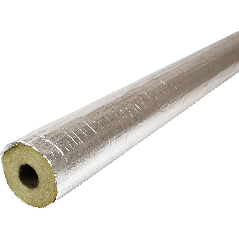 Isover  Rohr-Isolierungsschale Alu Ø-Innen 35 mm Dämmung 30 mm