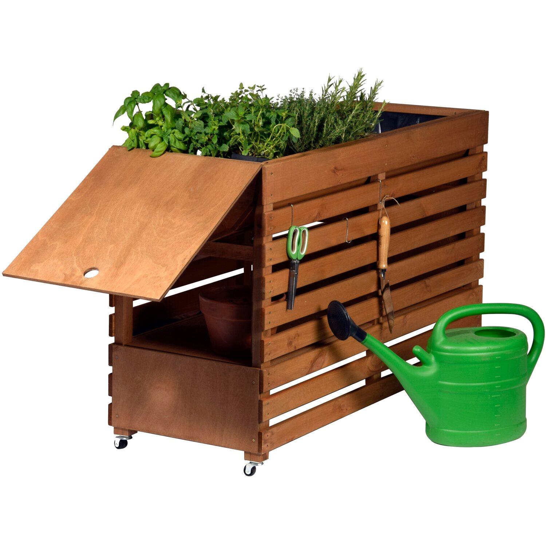 dobar hochbeet rolling garden gr xxl kaufen bei obi. Black Bedroom Furniture Sets. Home Design Ideas