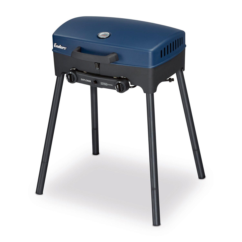 enders stand tisch gasgrill explorer 2 brenner zum. Black Bedroom Furniture Sets. Home Design Ideas