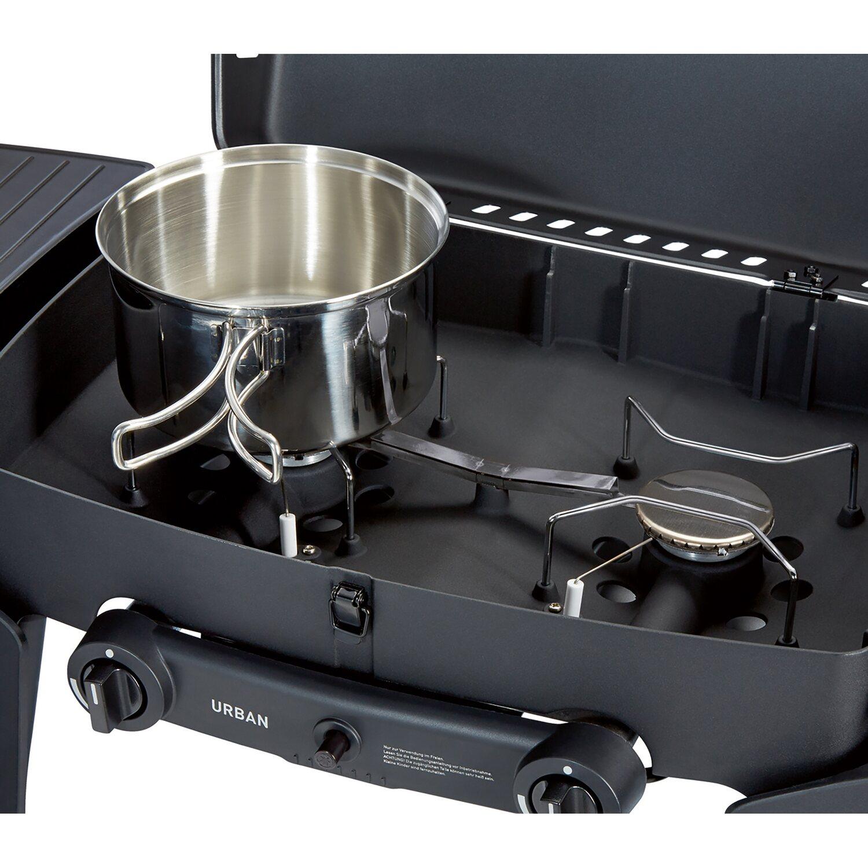 enders tisch gasgrill urban mit 2 brennern zum grillen backen kochen kaufen bei obi. Black Bedroom Furniture Sets. Home Design Ideas