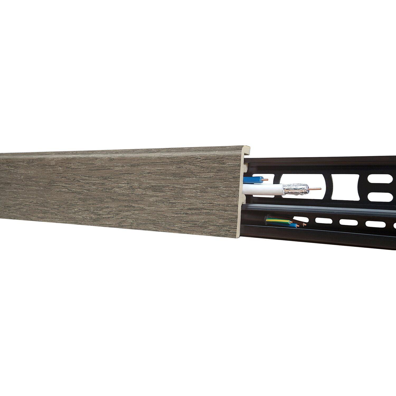 Floorever Spa Sockelleiste  Rocky Mountain 21 x 60 mm Länge 2400 mm
