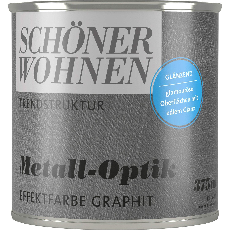 Schoner Wohnen Metall Optik Glanzend Graphit 375 Ml Kaufen Bei Obi