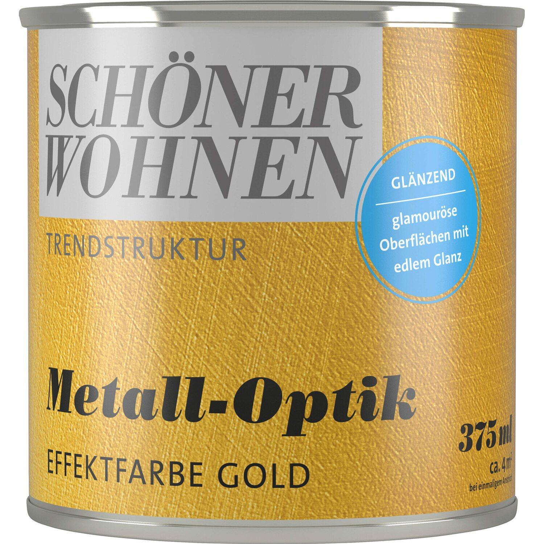 sch ner wohnen metall optik gl nzend gold 375 ml kaufen bei obi. Black Bedroom Furniture Sets. Home Design Ideas