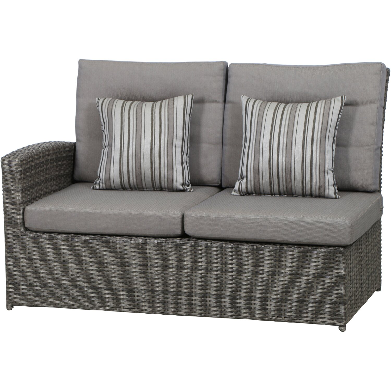 siena garden lounge gruppe porto 5 tlg 82 5 cm x 137 cm x 90 cm anthrazit kaufen bei obi. Black Bedroom Furniture Sets. Home Design Ideas