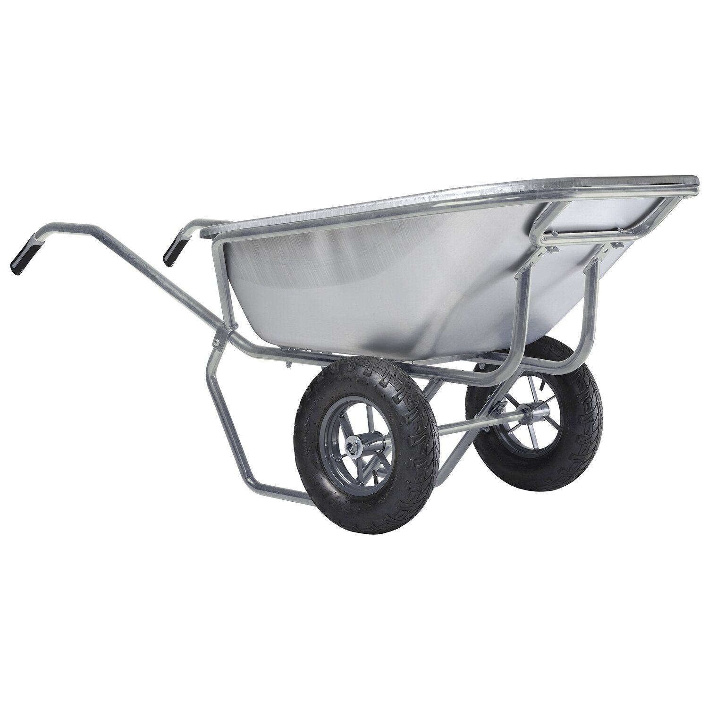 Hämmerlin Haemmerlin Zweirad-Großmuldenkarre Expert Excellium 230 Liter vollverzinkt