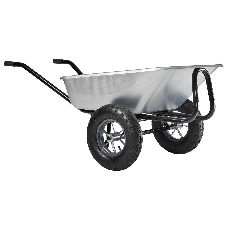 Hämmerlin Haemmerlin Zweirad-Großmuldenkarre Expert Premium 150 Liter verzinkt