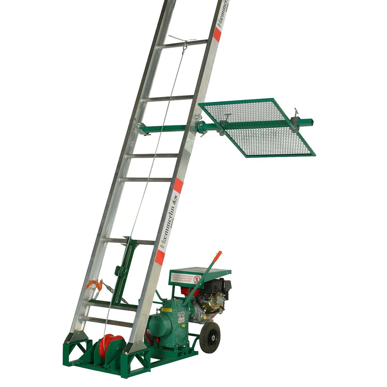 Hämmerlin Haemmerlin Bauaufzug Maxial Pro MA 443 Ausführung Dachdecker 11 Meter