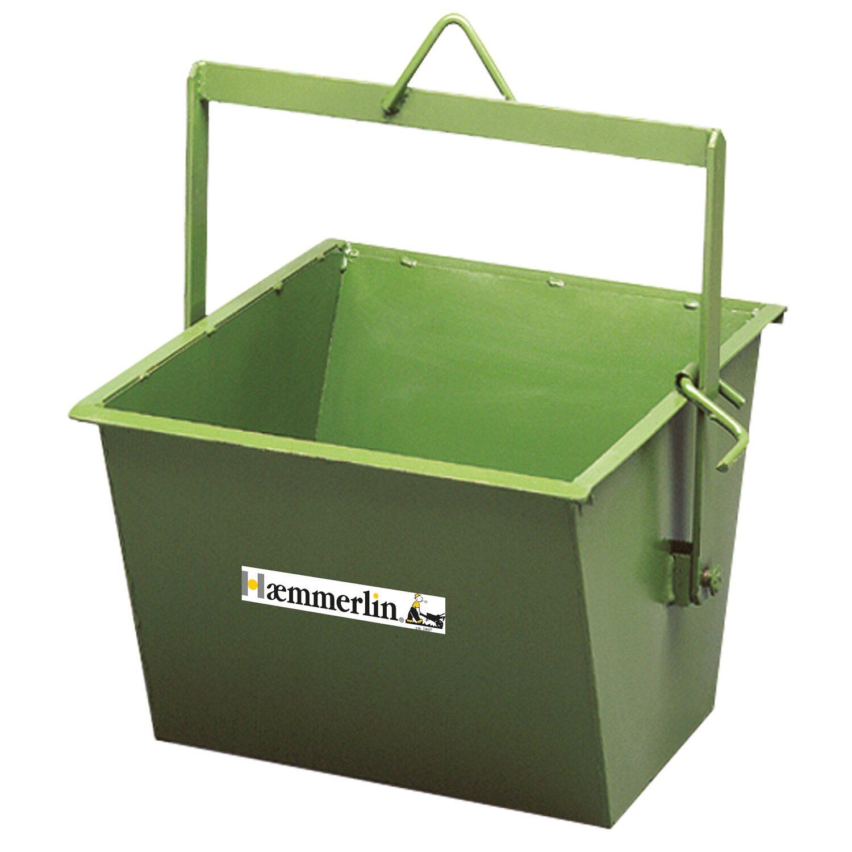 Hämmerlin Haemmerlin Kippkübel 45 Liter für Bauböcke mit Winde