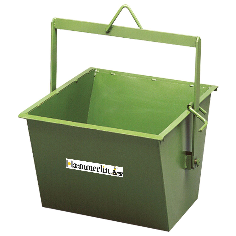 Hämmerlin Haemmerlin Kippkübel 80 Liter für Bauböcke mit Winde