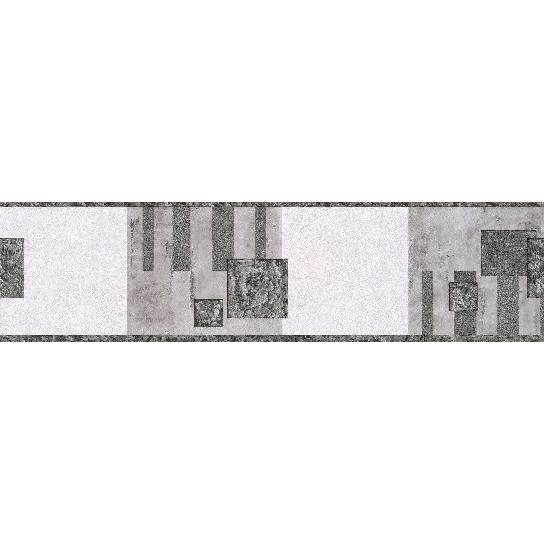 A.S. Creation Borte Muster Schwarz