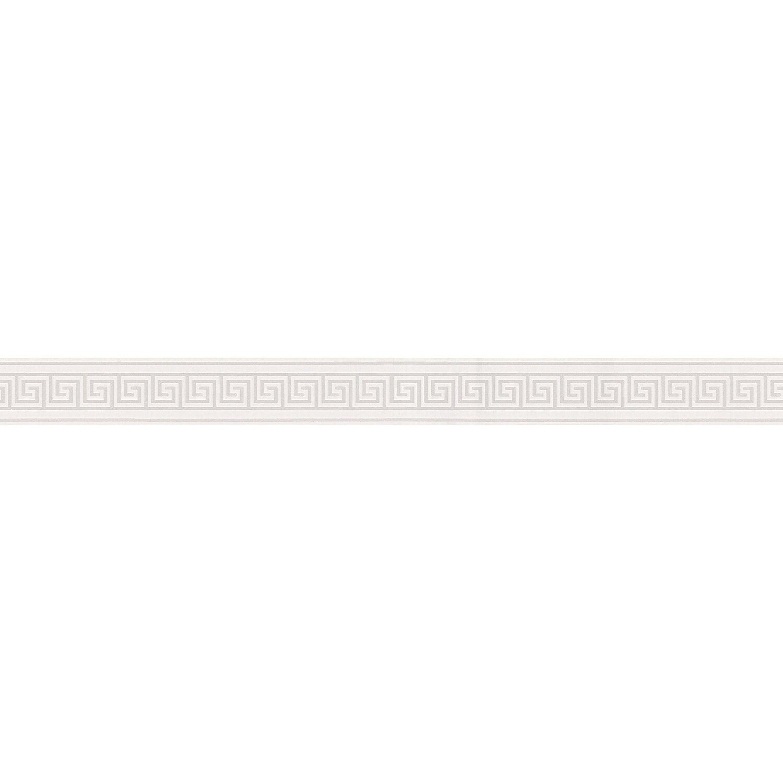 A.S. Creation Borte Muster Weiß