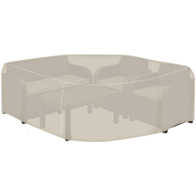 tepro abdeckhaube f r loungegruppe klein kaufen bei obi. Black Bedroom Furniture Sets. Home Design Ideas
