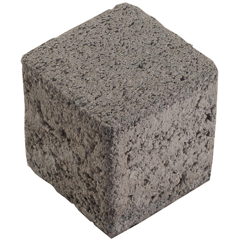 Rasengitter-Füllstein Beton Grau 8,2 cm x 8,2 cm x 8 cm