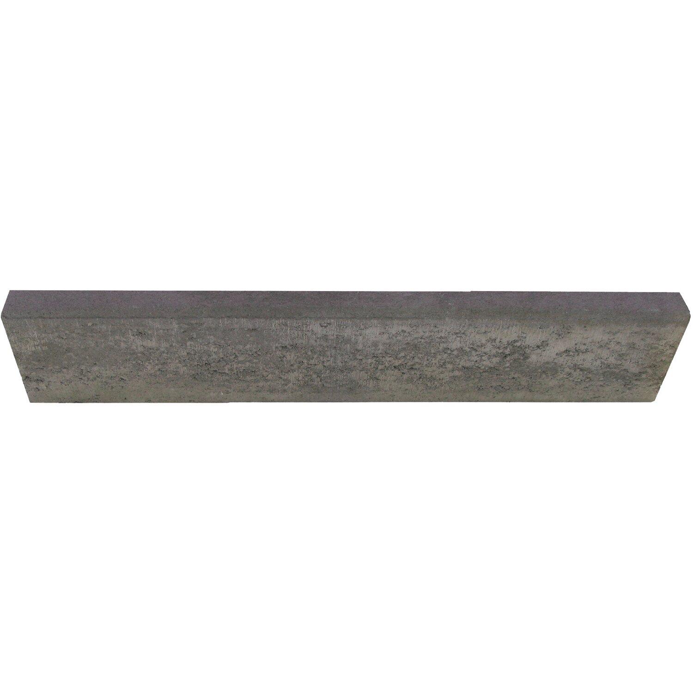 EHL Tiefbordstein Anthrazit 100 cm x 25 cm x 8 cm