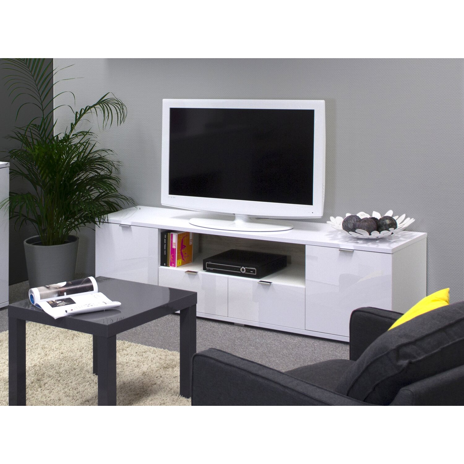 tv schrank online kaufen bei obi. Black Bedroom Furniture Sets. Home Design Ideas