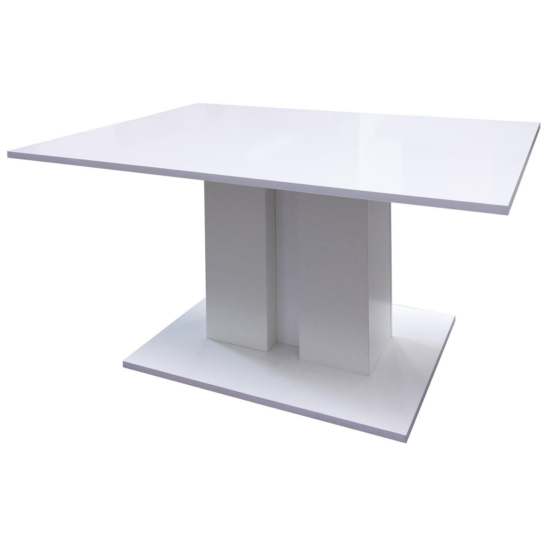 flex well esszimmertisch brilliant wei art nr 6611511angebot. Black Bedroom Furniture Sets. Home Design Ideas