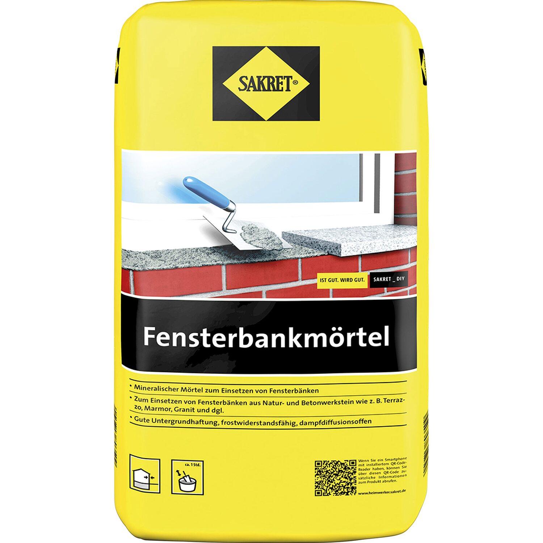 Sakret Fensterbankmörtel Grau 10 kg kaufen bei OBI