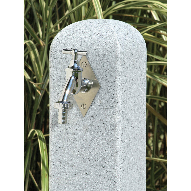 3p Wasserzapfstelle Poller Granit Kaufen Bei Obi