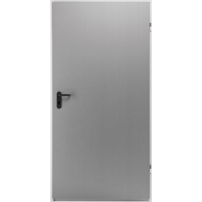Hörmann ZK-Tür-Element eingehängt Verzinkt 875 mm x 2000 mm x 80 mm DIN Rechts