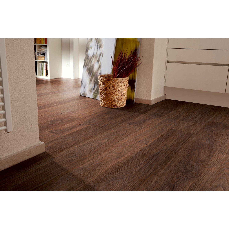 moderna laminatboden vision franz sischer nussbaum kaufen bei obi. Black Bedroom Furniture Sets. Home Design Ideas