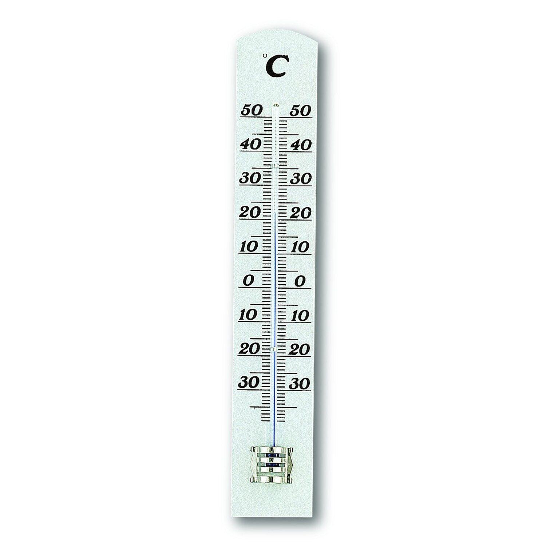 TFA Innen-Thermometer Weiß