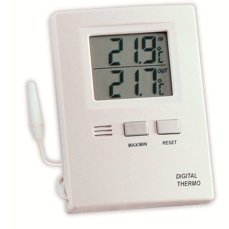 tfa digitales innen au en thermometer wei kaufen bei obi. Black Bedroom Furniture Sets. Home Design Ideas
