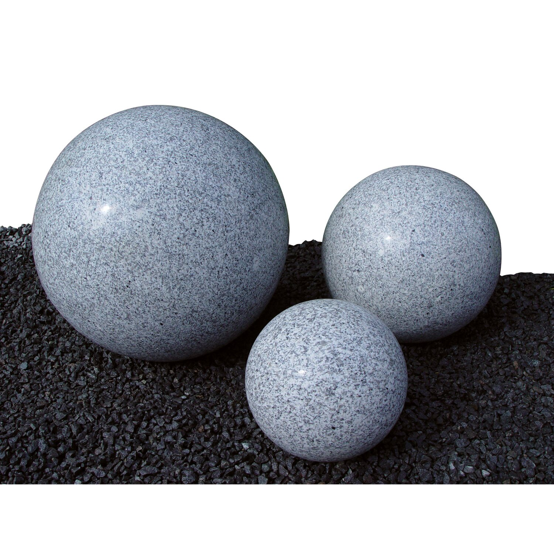Granit Kugel Grau poliert 50 cm kaufen bei OBI