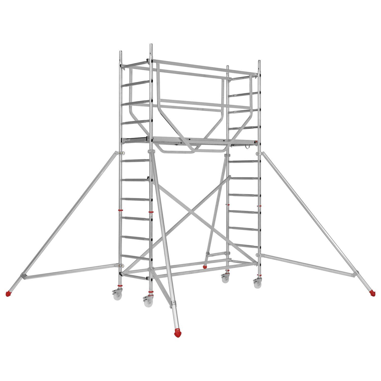 Hymer  Fahrgerüst Advanced Safe-T 7095 Arbeitshöhe: Ca. 3,64 m