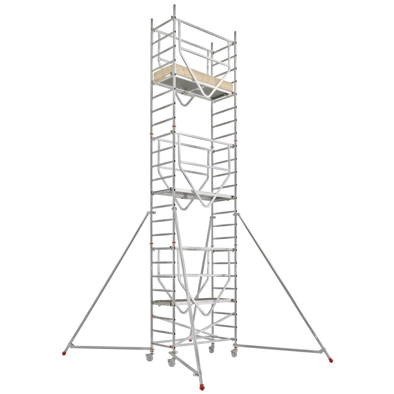 Hymer  Fahrgerüst Advanced Safe-T 7090 Arbeitshöhe: Ca. 6,64 m