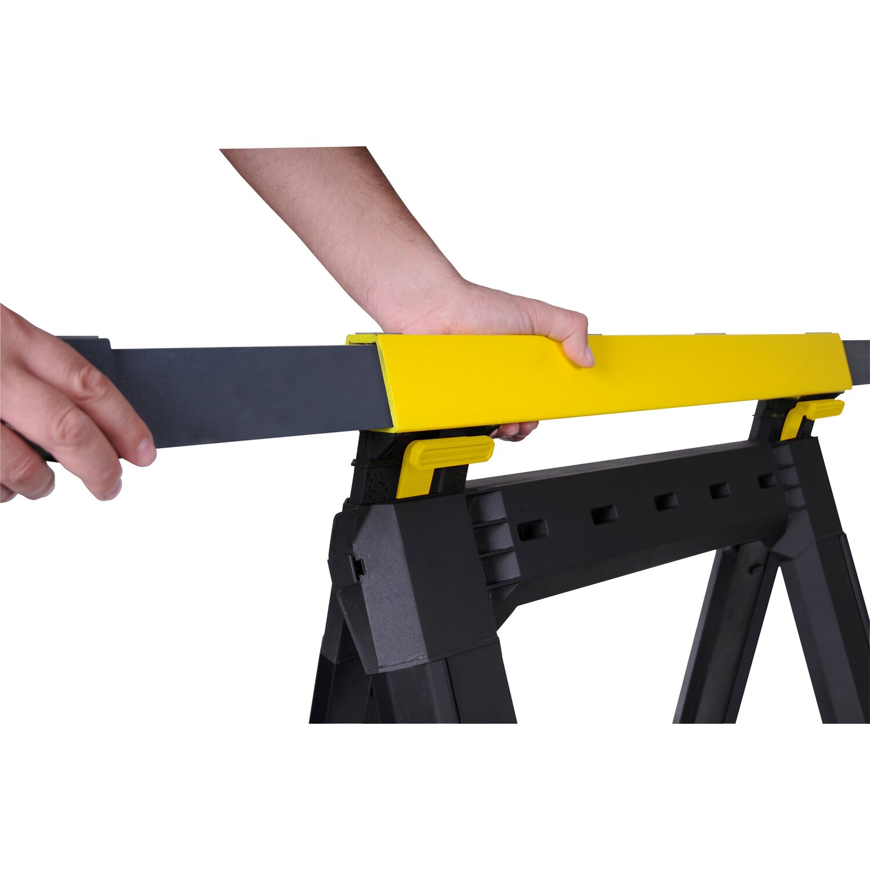 klappbar höhenverstellbar 2-er Set Arbeitsböcke