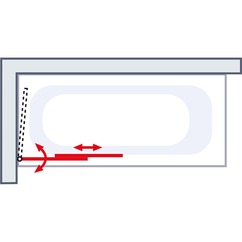 schulte badewannenaufsatz 2 teilig ausziehbar 70 cm 118 cm x 140 cm kaufen bei obi. Black Bedroom Furniture Sets. Home Design Ideas