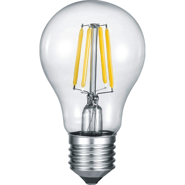 Trio LED-Filament-Leuchtmittel Glühlampenform E27 / 4 W (400 lm) Warmw. EEK: A+